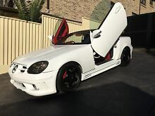 ONE OF A KIND CUSTOM 1998 Mercedes-Benz SLK230 Convertible Mount Pritchard Fairfield Area Preview