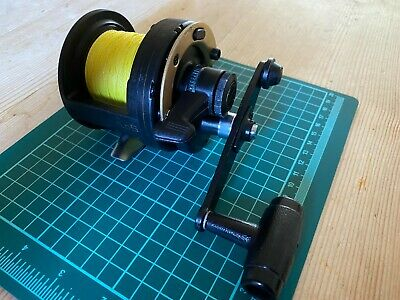 Shimano TLD 5 Triton Multiplier Sea Reel, serviced. Used good, with 30lb braid.