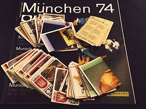 PANINI MUNCHEN (74,1974) ONLY NEW STICKERS - NUM. 1 - 200 CHOOSE FROM THE LIST - Italia - PANINI MUNCHEN (74,1974) ONLY NEW STICKERS - NUM. 1 - 200 CHOOSE FROM THE LIST - Italia