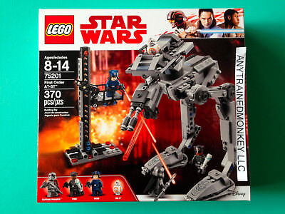 Lego Star Wars First Order At St 75201 New Sealed In Hand Free Priority Ship