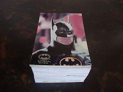 TOPPS STADIUM CLUB 1992 BATMAN RETURNS TRADING CARDS NEW