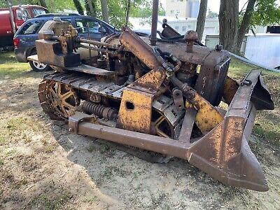 1938 Caterpillar D2 Narrow Gauge Crawler Dozer