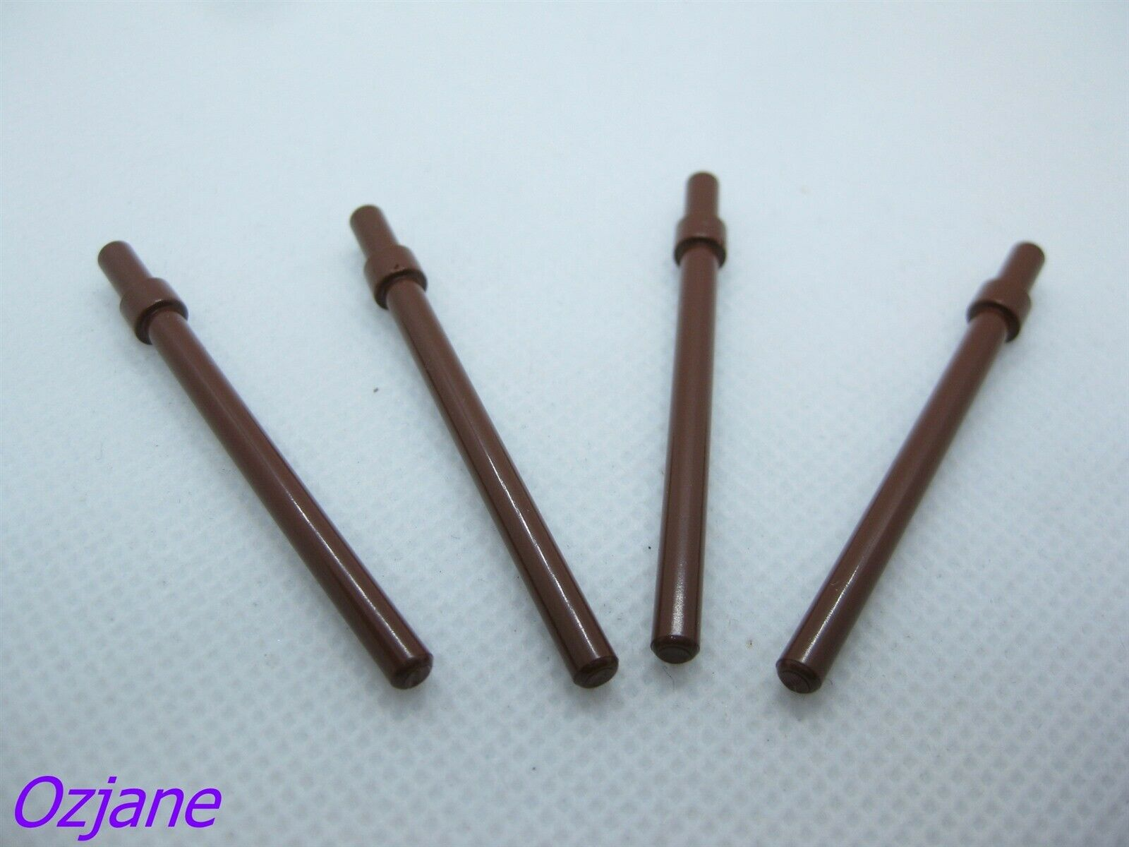 stop Ring Reddish Brown New Neuf Lego 63965-4x Barre Baton // Bar 6 L w