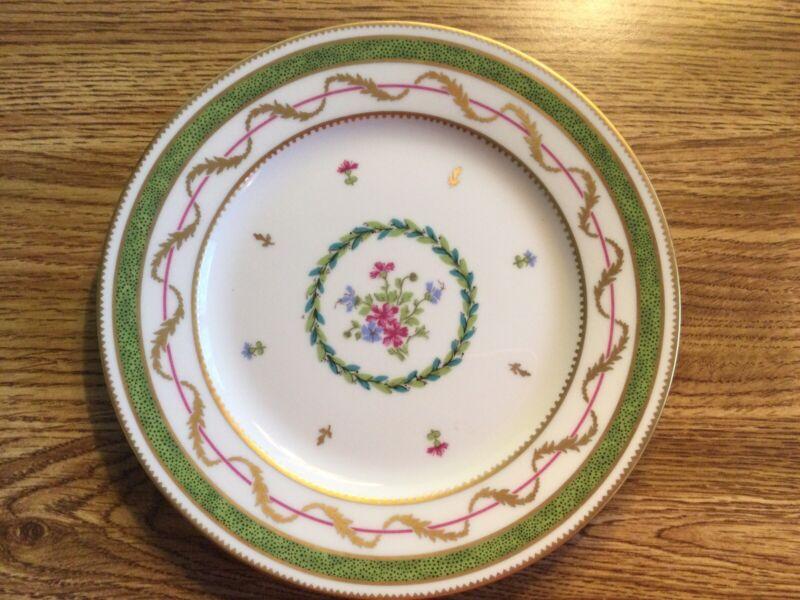 """Haviland Limoges Vieux Paris Vert Green Bread & Butter Plate 6 1/4"""" NEW"""