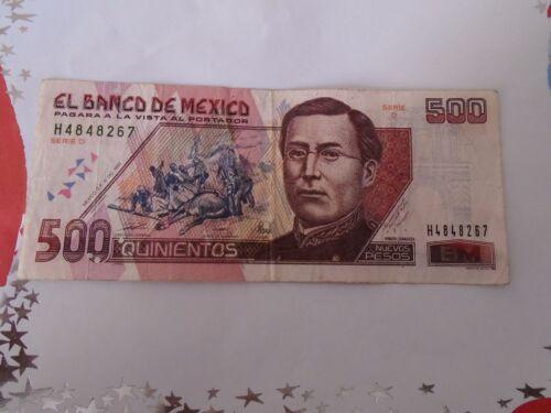 Banknote  Mexico ZARAGOZA 1992