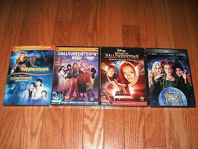 Halloweentown On Dvd (Brand New Sealed. Disneys Halloweentown complete set on DVD. All 4 movies)