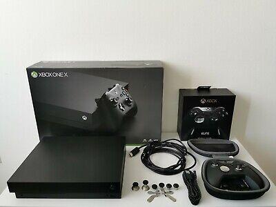 Microsoft XBOX One X 1 TB Spielekonsole + Elite Controller + GTA 5
