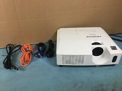 Hitachi CP-X2011N 3LCD XGA Projector 2200 Lumens 63 Lamp Hours w/ No Remote HDMI