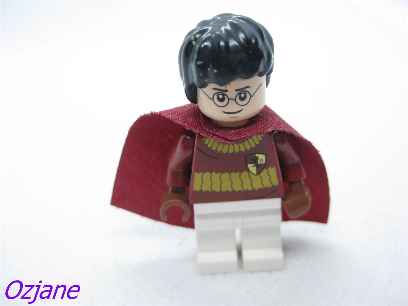 Lego Harry Potter Minifigure 4726 Quidditch Practice Figure Red Cape Original