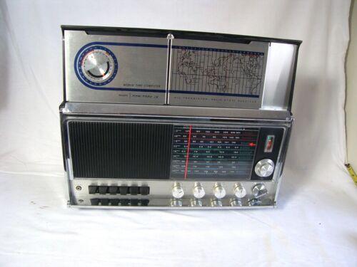 1970-75 Sears Com/Trek IX World Shortwave AM FM SW 9-Band Solid State Radio