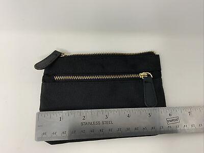 Office By Martha Stewart Double Zipper Pouch - Black 50390