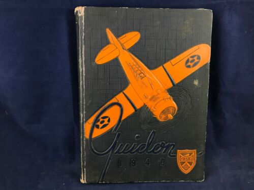 The Guidon of 1940 Vintage Book for the Cadet Corps of Oklahoma Military Academy