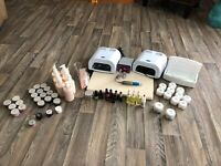 Acrylic nail kit for sale Paid over $900 asking $300 firm