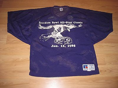 1985 SWAC vs. MEAC Freedom Bowl All-Stars Game Used Football Jersey/Free Ship! image