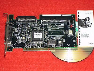 Adaptec-Controller-Card AHA-2940 UW PCI-SCSI-Adapter-Karte + Anleitung + CD NUR: