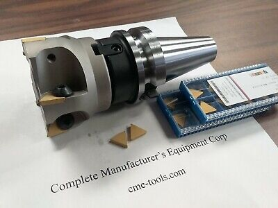 3 90 Degree Indexable Face Shell Mill Bt40 20 Extra Tpg322 Inerts 506-fmt-3