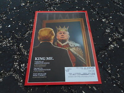 JUNE 16 2018 TIME magazine DONALD TRUMP - MAGA - KING ME
