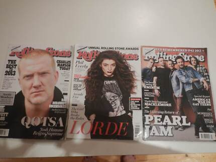 3 THREE ROLLING STONE MAGAZINE S ISSUES 2014 ALL IN GREAT COND