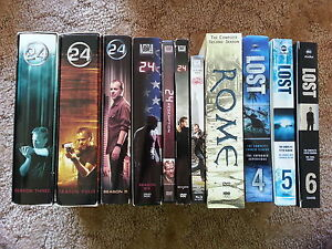 TV Series DVDs (Lost, 24, Rome)
