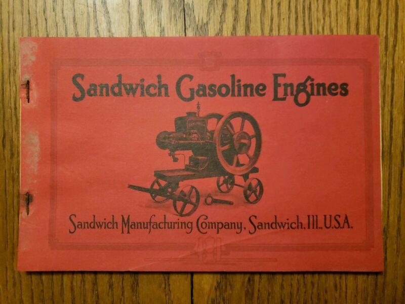 Sandwich Gasoline Engine Illinois Catalog