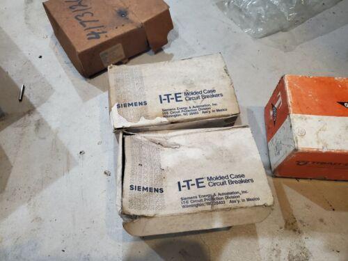 Lot of 10 Siemens 20 Amp Molded Case Circuit Breakers Cat #: BQ1B020