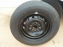 Steel Toyota 5 stud Spare Rim and new tyre Loxton Loxton Waikerie Preview