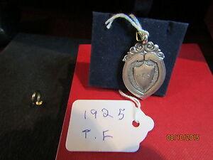 1925 THOMAS FATTORINI solid silver fob