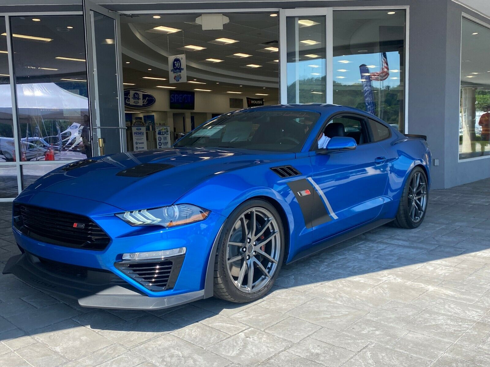 2021 FORD MUSTANG ROUSH STAGE 3 COUPE PHASE 2 EDITION 750 + HORSE POWER A+