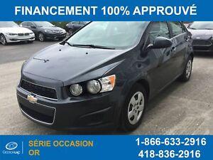 Chevrolet Sonic Lt Automatique 2014