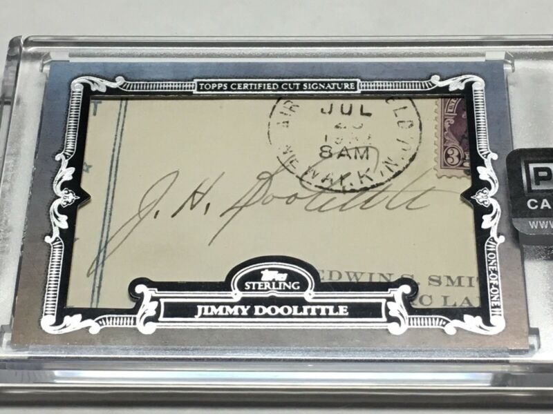 2020 Topps Sterling 1/1 Cut Signature Auto Jimmy Doolittle US AIR FORCE GENERAL