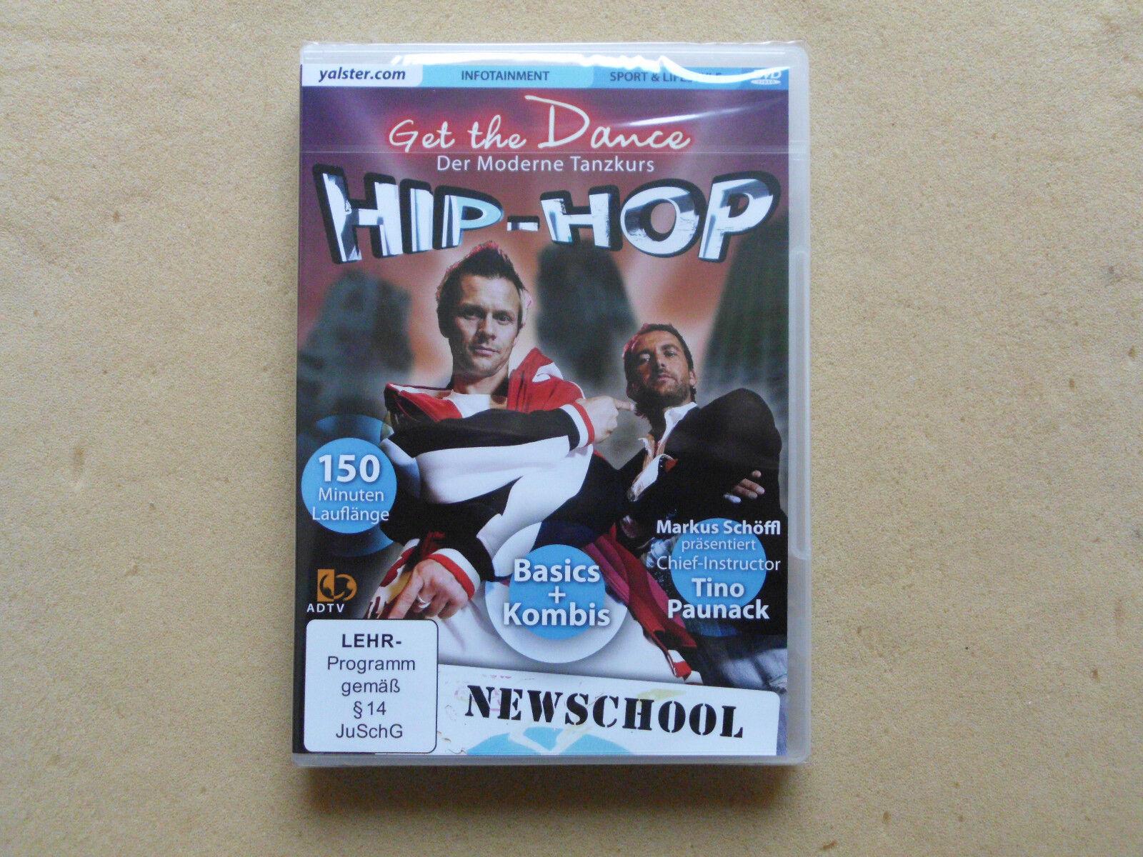 Hip-Hop - Newschool  Tanzen Tanzkurs DVD Neu OVP