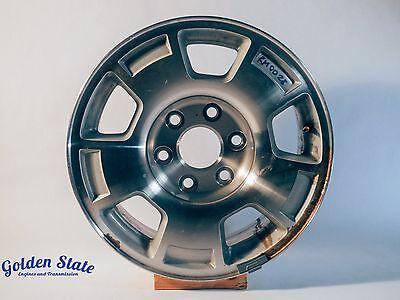 2007-2013 Chevrolet Silverado Suburban Tahoe Rims 17x7.5 5 Spoke OEM