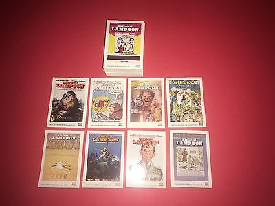1993 National Lampoon 100 Card CompleteTrading Set By 21ST Century Archives NrMT