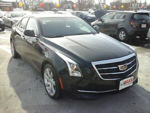 2015 CADILLAC ATS STANDARD COLLECTION- LEATHER HEATED SEATS, ONS