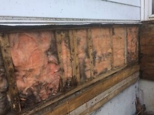 Wanted: handyman to fix rotted sills, and damaged exterior wall