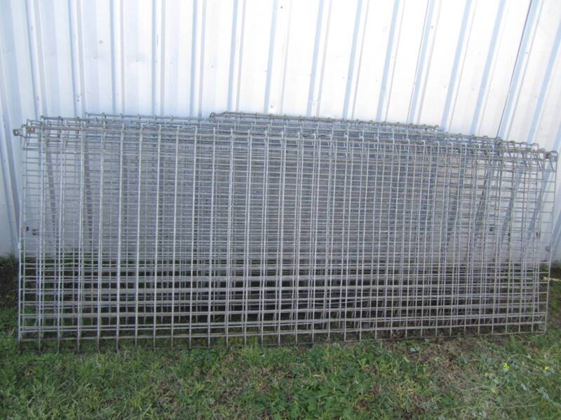 7 Weldmesh roll top and bottom wire fence panels (Galvanised ...