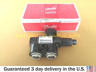 Jcb Backhoe - Genuine Danfoss Priority Valve Steering Part 35412100