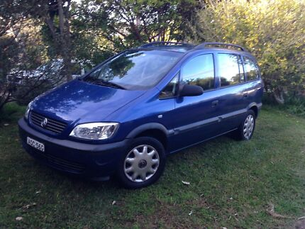 2003 Holden Zafira Dudley Lake Macquarie Area Preview