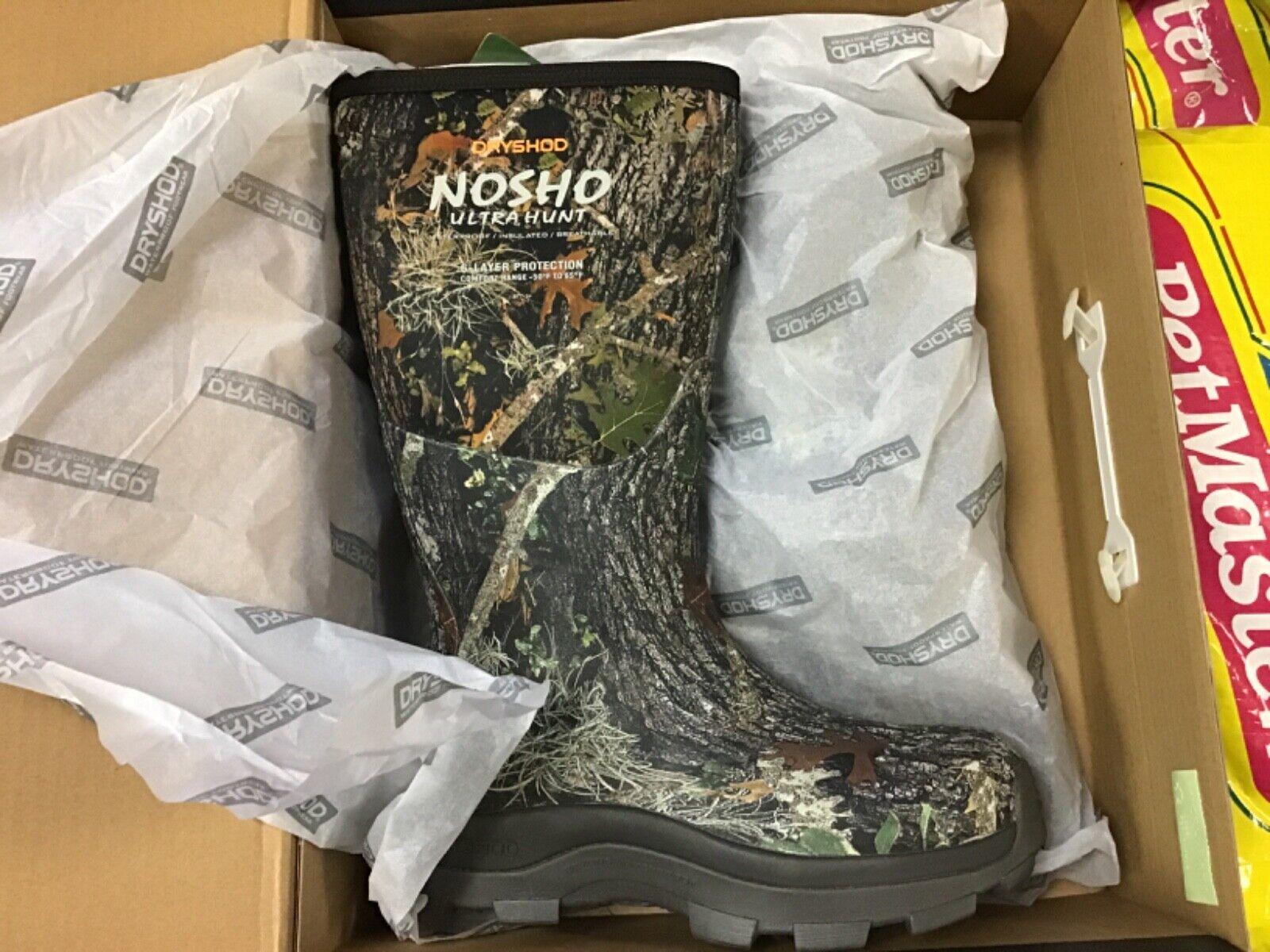 Dryshod NO SHO NWT Women's CAMO Hunting Boot Size 7 women'