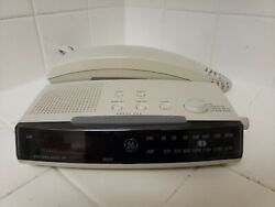 GE Alarm Clock Phone Telephone AM/FM Radio Combo 2-9710A Touch Tone Push Button
