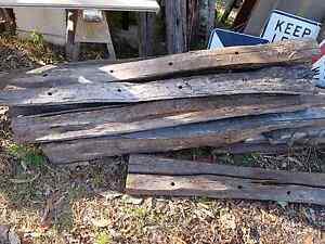 Rustic split wood farm fence posts $20 each Joyner Pine Rivers Area Preview