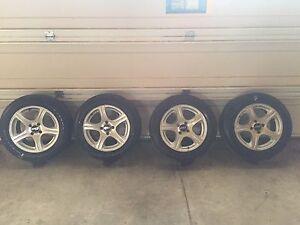 """15"""" Aluminum Rims for Chevy Cobalt"""