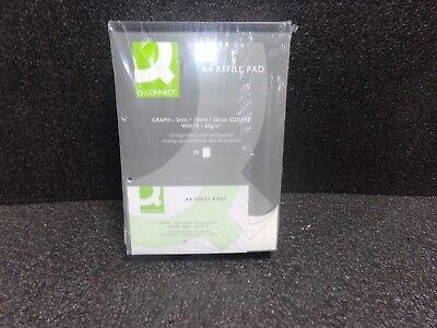 Paper A4 80 Q Connect Plain A4 Refill Pad 80 Leaf Kf02231 Pack Of 10 Plain