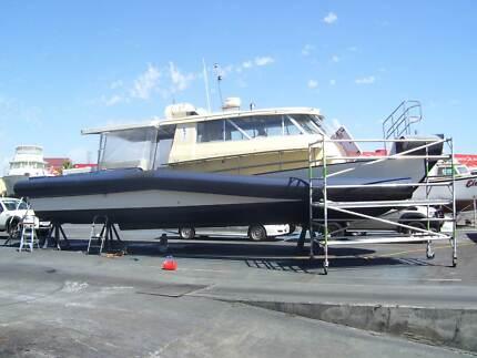 Rigid Inflatable Boat Repairs u0026 Retubes - 20 years in WA & BOAT CANOPIES W.A | Boat Accessories u0026 Parts | Gumtree Australia ...