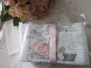 ~ LAVENDER Roses Tea Towel FRENCH Inspired Kitchen DECOR Gift~SPRING ~