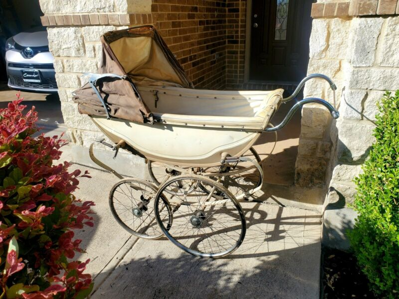Vintage Antique Royale Baby Stroller Pram Carriage Buggy Very Nice and Complete