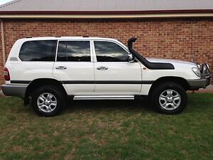 2005 Toyota LandCruiser 100 Series Wagon Tamworth Tamworth City Preview