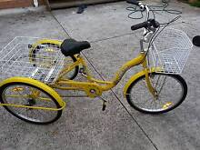 Tricycle Adult Trike Bike Aluminium Alloy light weight Mitcham Whitehorse Area Preview