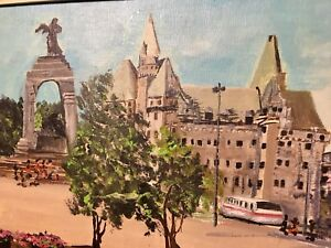 National war memorial/ Chateau Laurier-best offer by friday