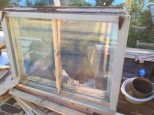 50/60 year old wooden windows